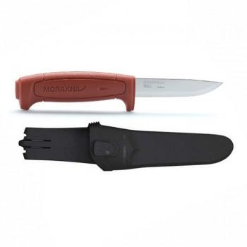 Нож Morakniv Basic углеродистая сталь красная ручка - купить (заказать), узнать цену - Охотничий супермаркет Стрелец г. Екатеринбург