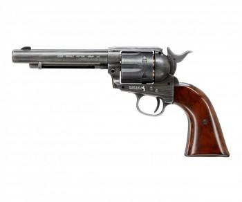 Револьвер пневматический Umarex Colt SAA 45 BB antique, кал. 4,5мм - купить (заказать), узнать цену - Охотничий супермаркет Стрелец г. Екатеринбург