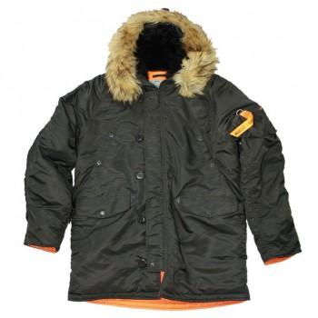 Куртка HUSKY DENALI BELUGA/ORANGE - купить (заказать), узнать цену - Охотничий супермаркет Стрелец г. Екатеринбург