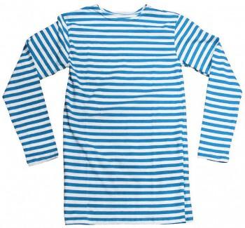 Тельняшка,  х/б, с голубой полосой - купить (заказать), узнать цену - Охотничий супермаркет Стрелец г. Екатеринбург