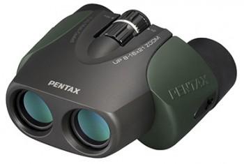 Бинокль Pentax 8-16x21 UP Зелёный - купить (заказать), узнать цену - Охотничий супермаркет Стрелец г. Екатеринбург