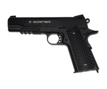 Пистолет пневматический BORNER KMB77, калибр 4,5 мм - купить (заказать), узнать цену - Охотничий супермаркет Стрелец г. Екатеринбург