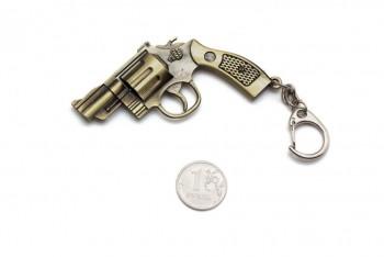 Брелок Microgun S Револьвер Smith and Wesson M36 (Gold Edition) - купить (заказать), узнать цену - Охотничий супермаркет Стрелец г. Екатеринбург
