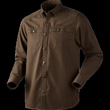 Рубашка Harkila Pro Hunter L/S Slate Brown - купить (заказать), узнать цену - Охотничий супермаркет Стрелец г. Екатеринбург