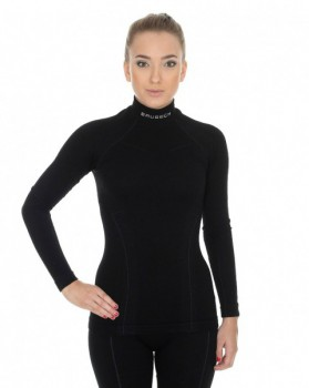 Комплект женский длинный рукав Brubeck Wool Merino 78% цвет черный - купить (заказать), узнать цену - Охотничий супермаркет Стрелец г. Екатеринбург