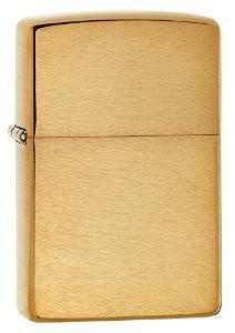 Зажигалка Zippo Brushed Brass - купить (заказать), узнать цену - Охотничий супермаркет Стрелец г. Екатеринбург