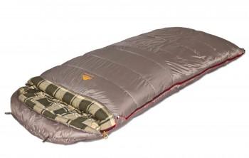 Мешок спальный   CANADA plus одеяло, серый, левый, 9266.01072 - купить (заказать), узнать цену - Охотничий супермаркет Стрелец г. Екатеринбург