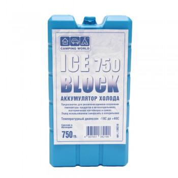Аккумулятор холода Camping World Iceblock 750 - купить (заказать), узнать цену - Охотничий супермаркет Стрелец г. Екатеринбург