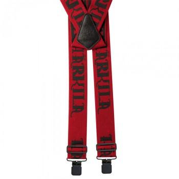 Подтяжки Harkila Carl-Eric Braces Red W/Clips - купить (заказать), узнать цену - Охотничий супермаркет Стрелец г. Екатеринбург