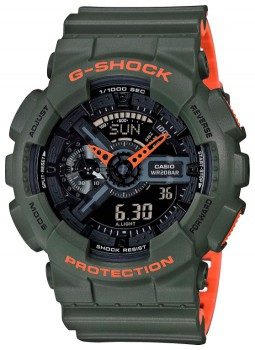 Часы CASIO GA-110LN-3A - купить (заказать), узнать цену - Охотничий супермаркет Стрелец г. Екатеринбург