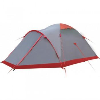 Палатка Tramp Mountain 4 (серая) - купить (заказать), узнать цену - Охотничий супермаркет Стрелец г. Екатеринбург