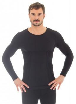 Комплект термобелья Brubeck Comfort Wool мужской черный с длинным рукавом - купить (заказать), узнать цену - Охотничий супермаркет Стрелец г. Екатеринбург