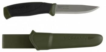 Нож Morakniv Companion MG (C) углеродистая сталь цвет хаки - купить (заказать), узнать цену - Охотничий супермаркет Стрелец г. Екатеринбург