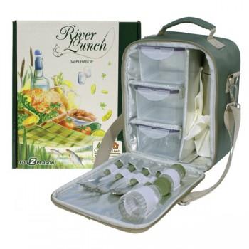 Набор для пикника CW River Lunch в подарочной упаковке - купить (заказать), узнать цену - Охотничий супермаркет Стрелец г. Екатеринбург