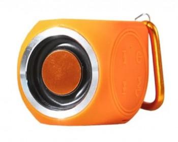 Портативная беспроводная музыкальная колонка CW Cubic Box (цвет оранжевый, караб - купить (заказать), узнать цену - Охотничий супермаркет Стрелец г. Екатеринбург