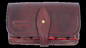 Подсумок-карман универсальный,быстросъемный для чехлов Лидер(130*120*40) / кожа - купить (заказать), узнать цену - Охотничий супермаркет Стрелец г. Екатеринбург