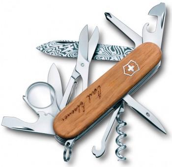 Нож Victorinox Explorer Damast Limited Edition 1.6701.J13 юбилейный - купить (заказать), узнать цену - Охотничий супермаркет Стрелец г. Екатеринбург