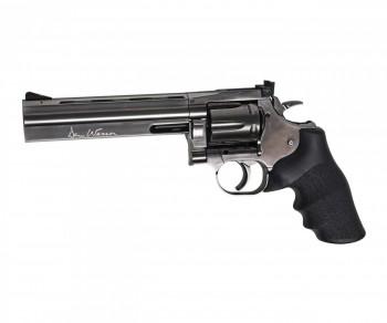 Рвольвер певматический ASG Dan Wesson 715-6 steel grey пулевой 4,5 мм - купить (заказать), узнать цену - Охотничий супермаркет Стрелец г. Екатеринбург