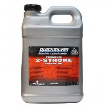 Масло  Quicksilver Premium TC-W3 10л - купить (заказать), узнать цену - Охотничий супермаркет Стрелец г. Екатеринбург