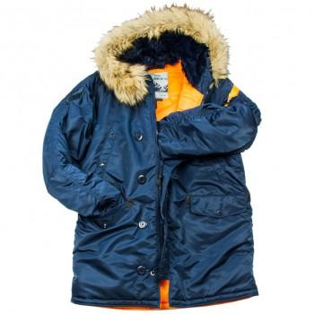 Куртка HUSKY DENALI REP. BLUE/ORANGE - купить (заказать), узнать цену - Охотничий супермаркет Стрелец г. Екатеринбург