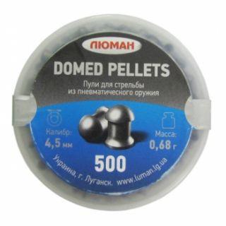 Пуля Domed pellets, 0,68 г. 4,5 мм. (500 шт.) - купить (заказать), узнать цену - Охотничий супермаркет Стрелец г. Екатеринбург