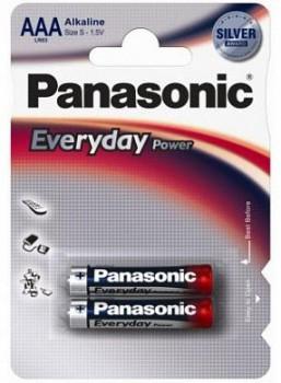 Э/п Panasonic Everyday  LR03/286 BL2 - купить (заказать), узнать цену - Охотничий супермаркет Стрелец г. Екатеринбург