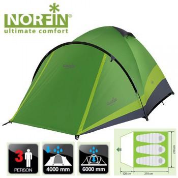 Палатка Norfin Perch 3 NF - купить (заказать), узнать цену - Охотничий супермаркет Стрелец г. Екатеринбург
