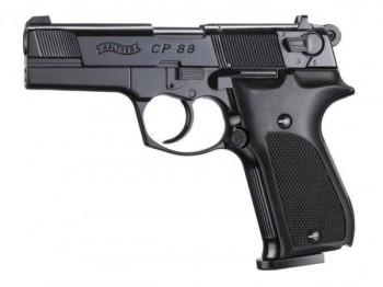 Пистолет пневм. Walther СР 88 (чёрный с чёрн. пласт. накладками) - купить (заказать), узнать цену - Охотничий супермаркет Стрелец г. Екатеринбург