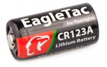 Батарея литиевая Eagle Tac CR123A 1700мАч - купить (заказать), узнать цену - Охотничий супермаркет Стрелец г. Екатеринбург