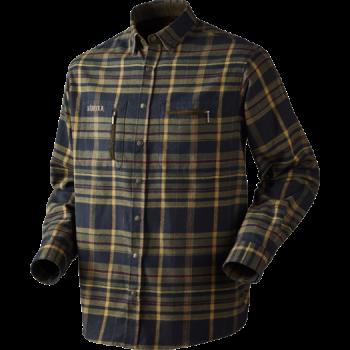 Рубашка Harkila Eide Green/Black Check - купить (заказать), узнать цену - Охотничий супермаркет Стрелец г. Екатеринбург