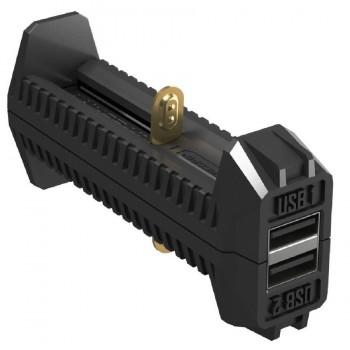 Зарядное устройство Nitecore F2 18650/16340 POWERBANK Intellicharge V2 (2016) - купить (заказать), узнать цену - Охотничий супермаркет Стрелец г. Екатеринбург