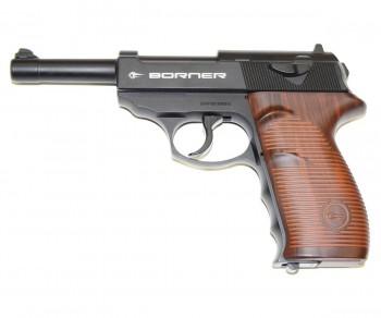 Пистолет пневм. BORNER C41, кал. 4,5 мм - купить (заказать), узнать цену - Охотничий супермаркет Стрелец г. Екатеринбург