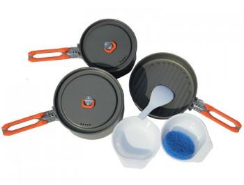 Набор посуды FEAST 3 алюмин 2-3 персоны - купить (заказать), узнать цену - Охотничий супермаркет Стрелец г. Екатеринбург