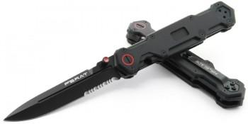 Нож Ferat black serrated - купить (заказать), узнать цену - Охотничий супермаркет Стрелец г. Екатеринбург