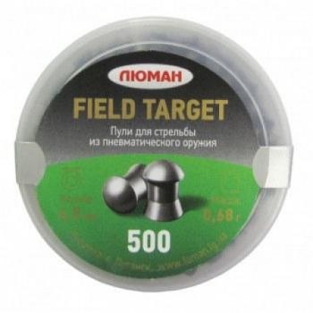 Пуля Люман Field Target, 0,68 г. 4,5 мм. (500 шт.) - купить (заказать), узнать цену - Охотничий супермаркет Стрелец г. Екатеринбург