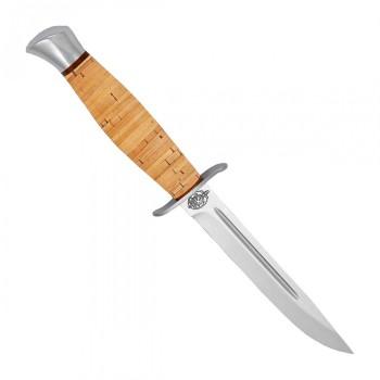"""Нож туристический """"Финка-2"""" береста, 95х18 - купить (заказать), узнать цену - Охотничий супермаркет Стрелец г. Екатеринбург"""