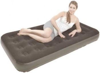 Кровать Relax Flocked Air Bed Twin со встроенным электрическим насосом 191x101x22 темно-серая - купить (заказать), узнать цену - Охотничий супермаркет Стрелец г. Екатеринбург