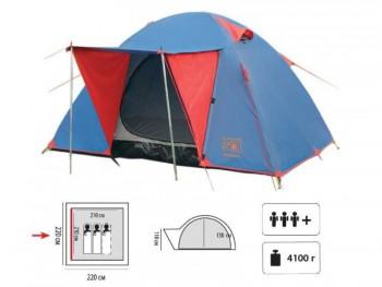 Палатка Sol Wonder 3 (синяя) - купить (заказать), узнать цену - Охотничий супермаркет Стрелец г. Екатеринбург