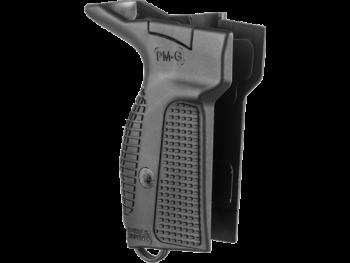 Рукоятка для пистолета Макарова (черная) для правши  fx-pmgb - купить (заказать), узнать цену - Охотничий супермаркет Стрелец г. Екатеринбург
