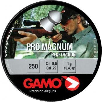 Пуля Gamo Magnum, кал. 5,5 мм. (250 шт.) - купить (заказать), узнать цену - Охотничий супермаркет Стрелец г. Екатеринбург