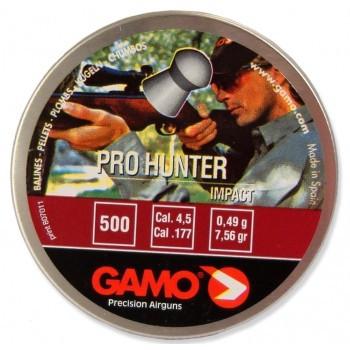 Пуля Gamo Pro-Hunter, кал. 4,5 мм. (500 шт.) - купить (заказать), узнать цену - Охотничий супермаркет Стрелец г. Екатеринбург