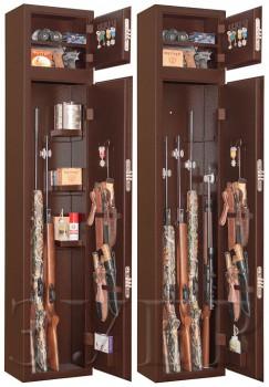 Сейф оружейный Зубр цвет серый - купить (заказать), узнать цену - Охотничий супермаркет Стрелец г. Екатеринбург