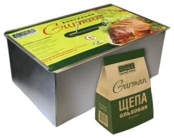 Коптильня универсальная Gurman размер L - купить (заказать), узнать цену - Охотничий супермаркет Стрелец г. Екатеринбург
