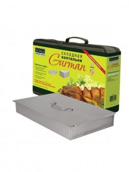 Коптильня складная Gurman размер L 2 яруса 485х310х190 - купить (заказать), узнать цену - Охотничий супермаркет Стрелец г. Екатеринбург