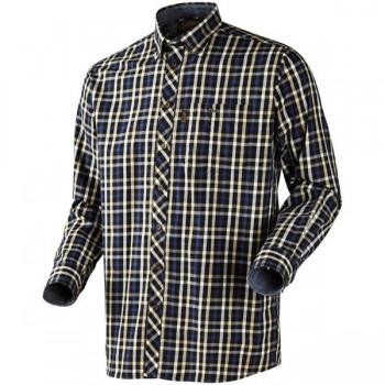 Рубашка Seeland Hanley L/S Shirt Green/Dark Blue Check - купить (заказать), узнать цену - Охотничий супермаркет Стрелец г. Екатеринбург