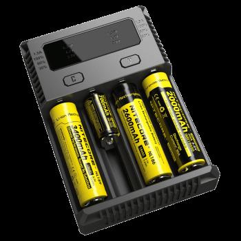 Зарядное устройство Nitecore NEW I4 18650 16340 Intellicharge V2 (2016) - купить (заказать), узнать цену - Охотничий супермаркет Стрелец г. Екатеринбург