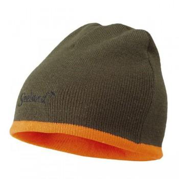 Шапка Seeland Ian Reversible Hi-Vis Orange/Pine Green - купить (заказать), узнать цену - Охотничий супермаркет Стрелец г. Екатеринбург