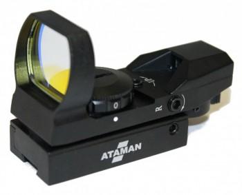 Прицел коллиматорный  ATAMAN 1x23x34 Multi Reticle Dovetail - купить (заказать), узнать цену - Охотничий супермаркет Стрелец г. Екатеринбург