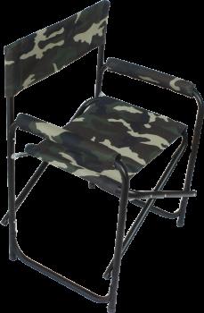 """Кресло складное """"СЛЕДОПЫТ"""" 585х450х825 мм, сталь 25 мм, синий - купить (заказать), узнать цену - Охотничий супермаркет Стрелец г. Екатеринбург"""