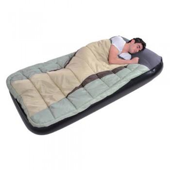 Кровать+спальник Relax Comfort Sleeping Bag And Inflatabed Bed 190х99х25 синяя - купить (заказать), узнать цену - Охотничий супермаркет Стрелец г. Екатеринбург